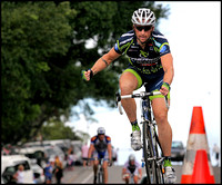 Adrian Booth wins Eumundi Stage Elite A. GC second.