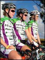 U17 women. Courtney Le Lay  1st (center) with Zoe Appel  2nd (left) and Lucy Mosely (3rd).
