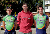 A Grade podium, Mike Jackson (centre) Deon Locke and Stephen Handreck