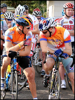 """I'm the climber, you're the time triallist.""...Matt Wolstencroft and Ross Cattle discuss team tactics."