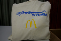The official race musette