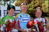 Winner Ruth Corset (Townsville) Carly Hibberd (Hit racing) Carla Ryan (QAS) 3rd. Club Nationals, 06
