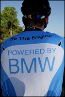 Exclusive BMW jersey worn by Richard Moye