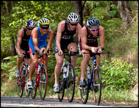 Amberger, Dellow, Fettell and Atkinson on Noosa Hill
